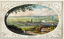 Picture of an coloured lithographie of Heilbronn